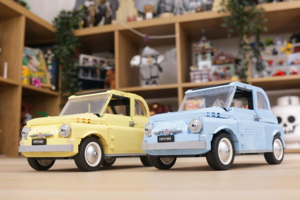 LEGO Creator Expert 77942 Fiat 500 review 31