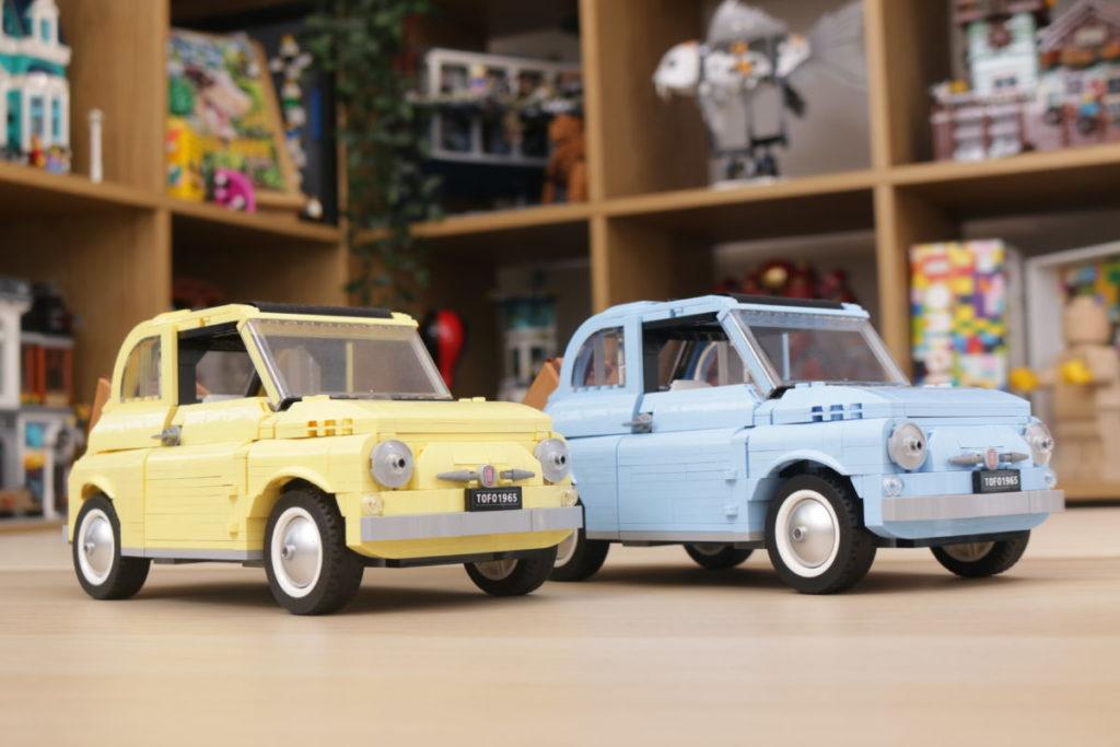 LEGO Creator Expert 77942 Fiat 500 review 32