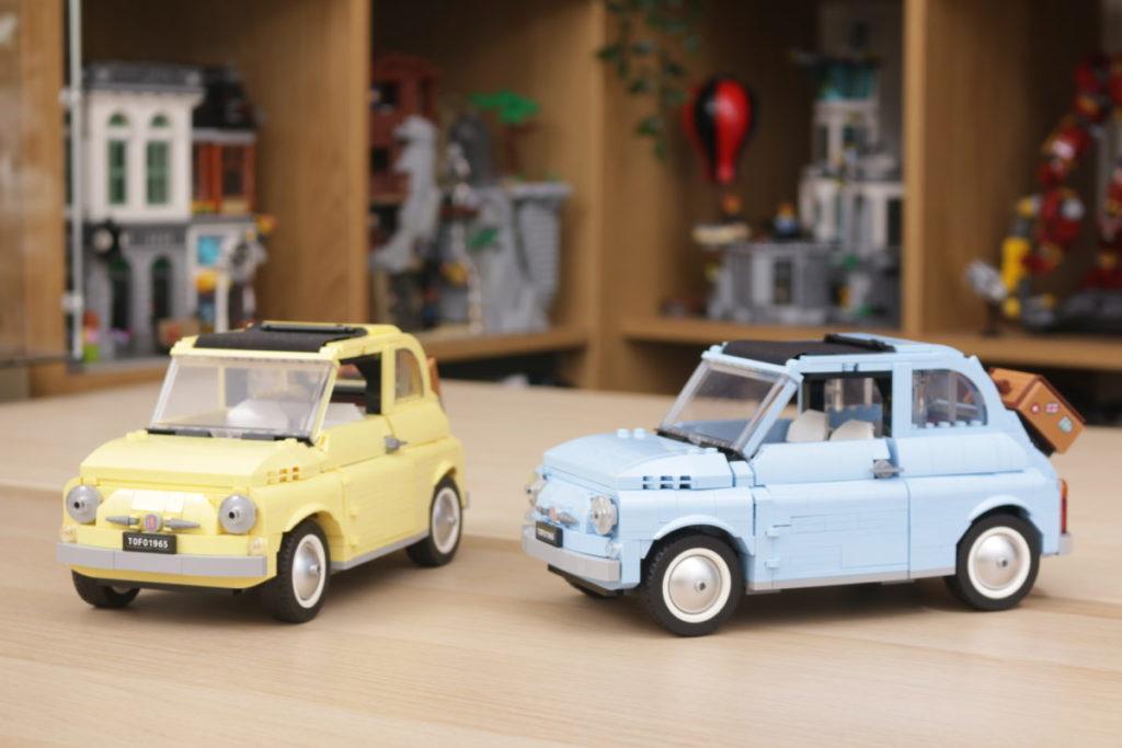 LEGO Creator Expert 77942 Fiat 500 review 33
