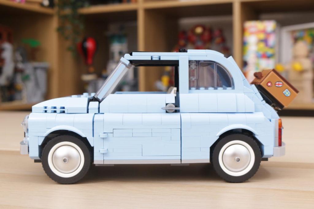 LEGO Creator Expert 77942 Fiat 500 review 4