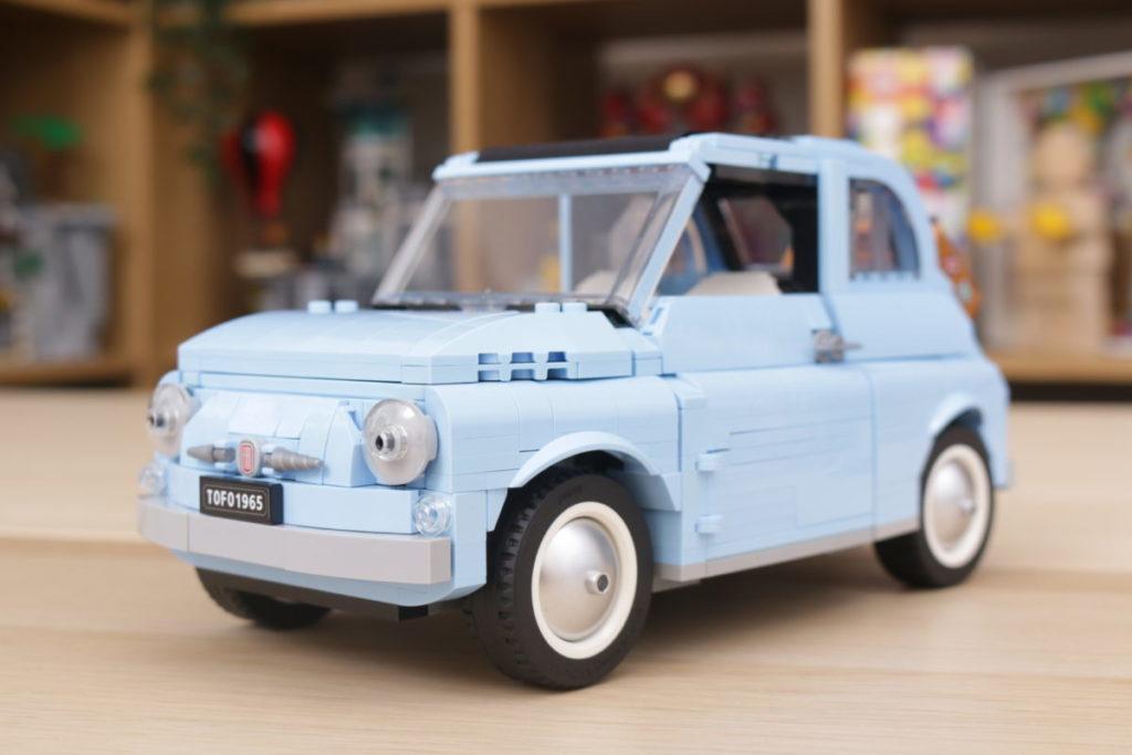 LEGO Creator Expert 77942 Fiat 500 review 5