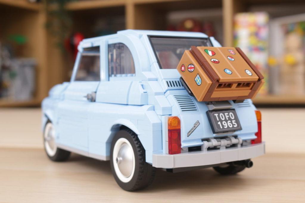 LEGO Creator Expert 77942 Fiat 500 review 7