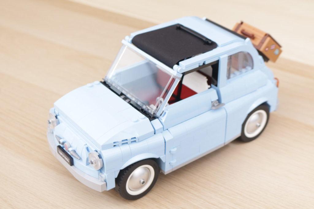 LEGO Creator Expert 77942 Fiat 500 review 8
