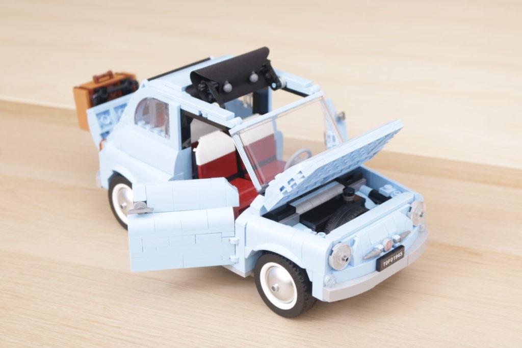 LEGO Creator Expert 77942 Fiat 500 review 9