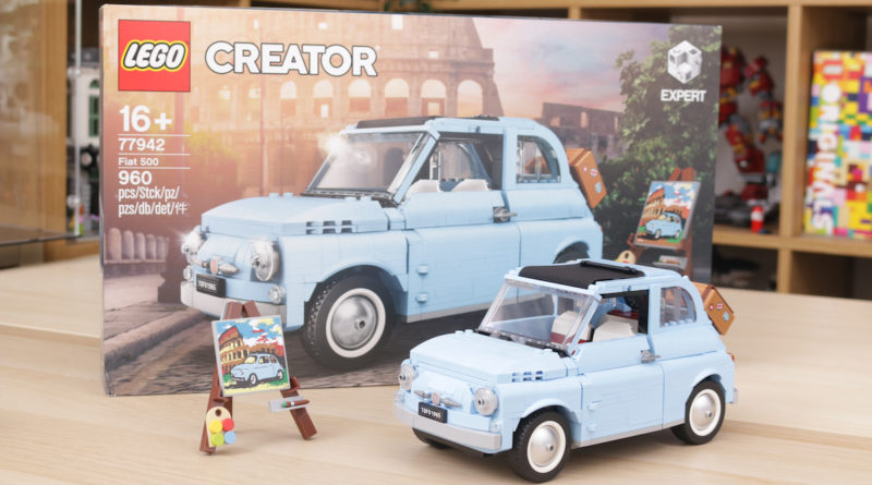 LEGO Creator Expert 77942 Fiat 500 review title 2
