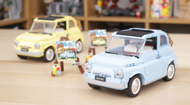 LEGO Creator Expert 77942 Fiat 500 review title