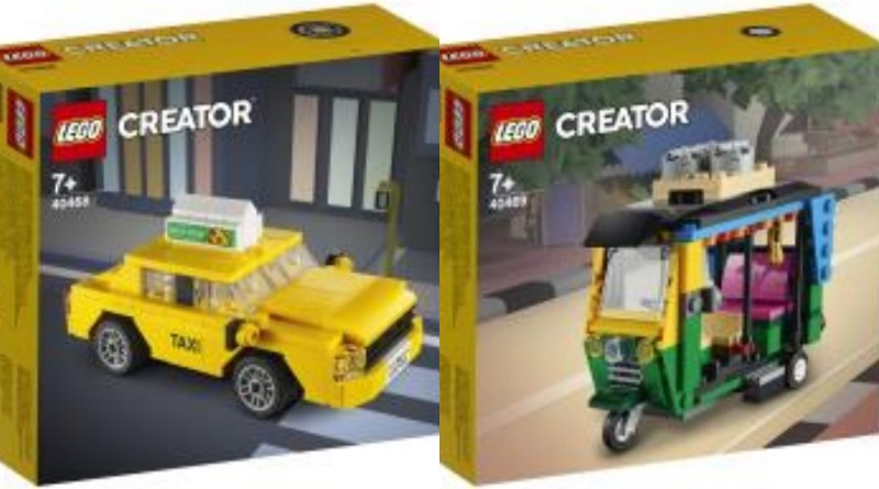 LEGO Creator Vehicles 2021 Featured