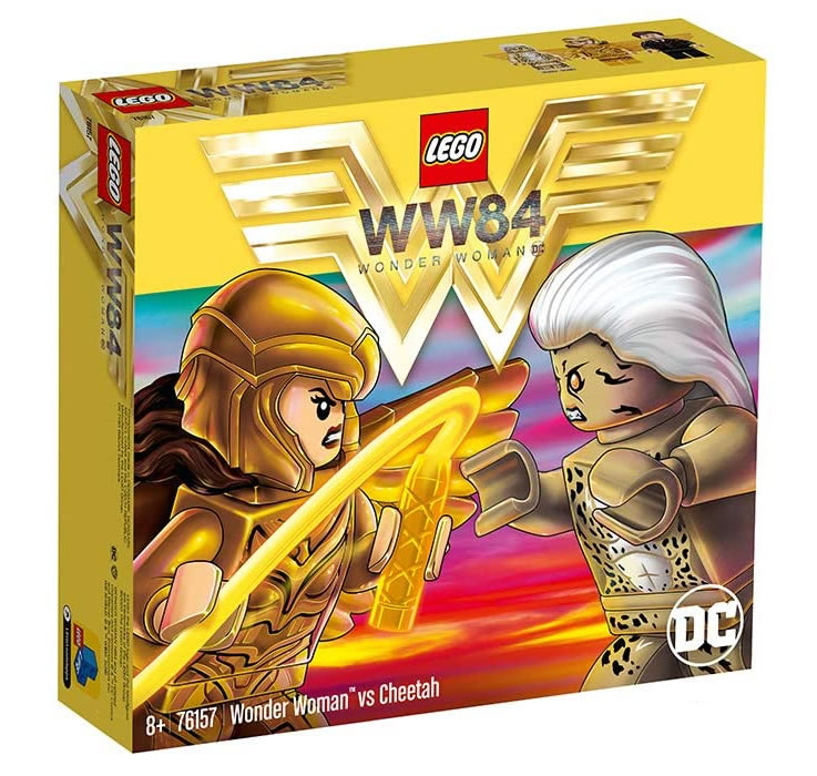 LEGO DC 76157 Wonder Woman Vs Cheetah 2