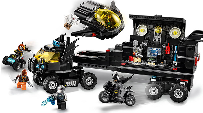 LEGO DC 76160 Mobile Bat Base Featured