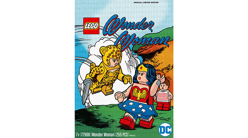 LEGO DC 77906 Wonder Woman 2 သည်ထူးခြားသည်