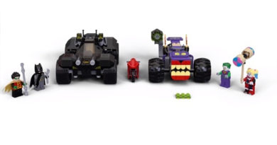 LEGO DC Batman 76159 Joker's Trike Chase