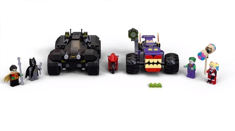 LEGO DC Batman 76159 Jokers Trike Chase Featured