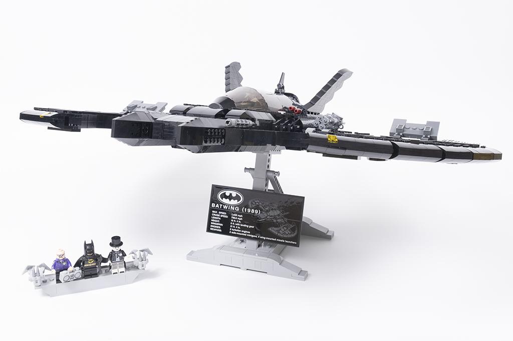 LEGO DC Batman 76161 1989 Batwing 53
