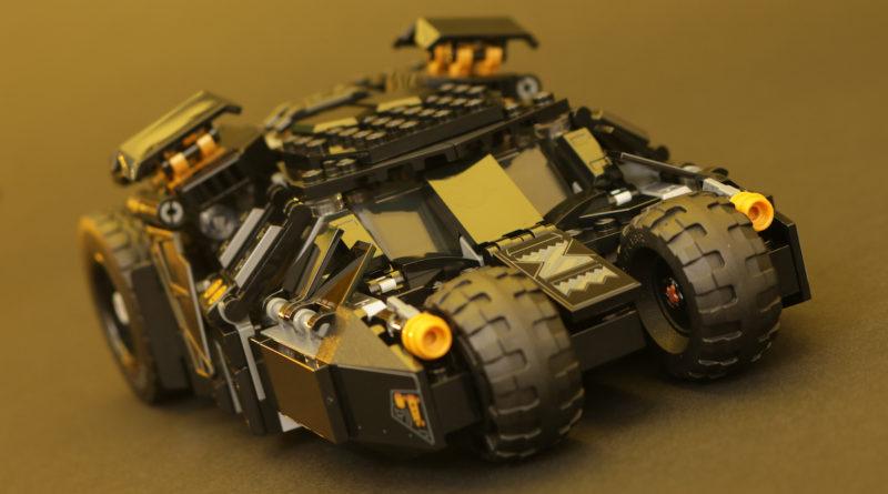 LEGO DC Batman 76239 Batmobile Tumbler Scarecrow Showdown review title