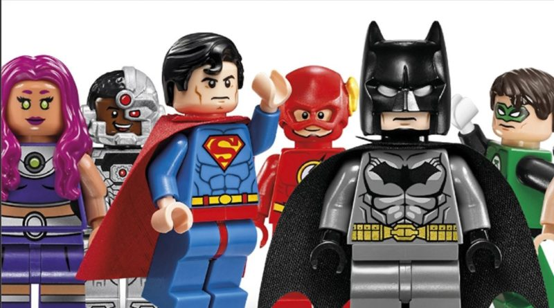 LEGO DC Character Encylopedia minifigures featured