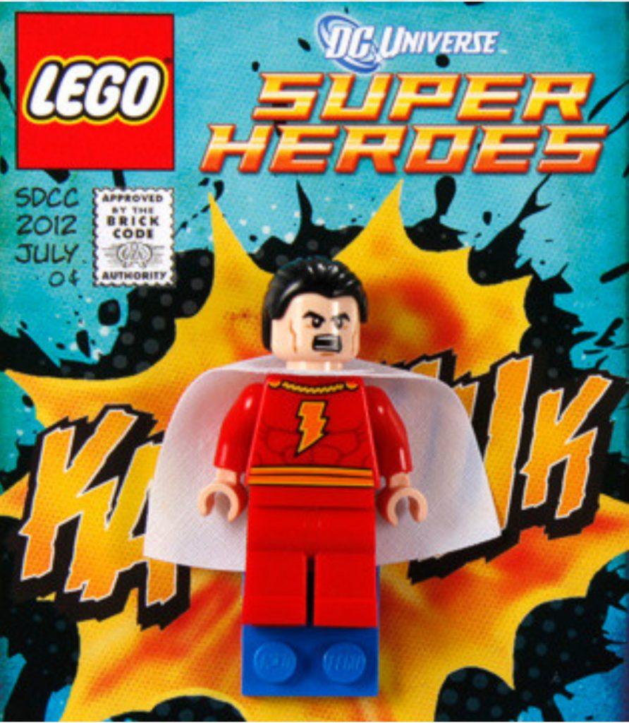 LEGO DC SDCC Shazam