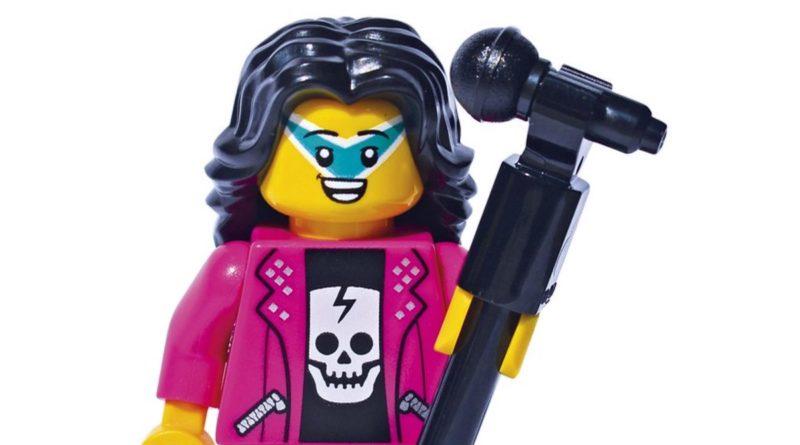 LEGO DK Books Meet the Minifigures Rock Star featured