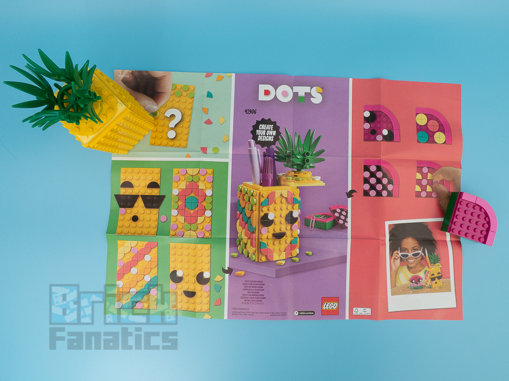 LEGO DOTS 41906 Pineapple Pencil Holder 30