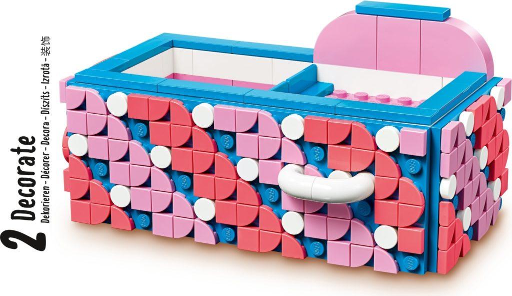 LEGO DOTS 41907 Desk Organizer 11