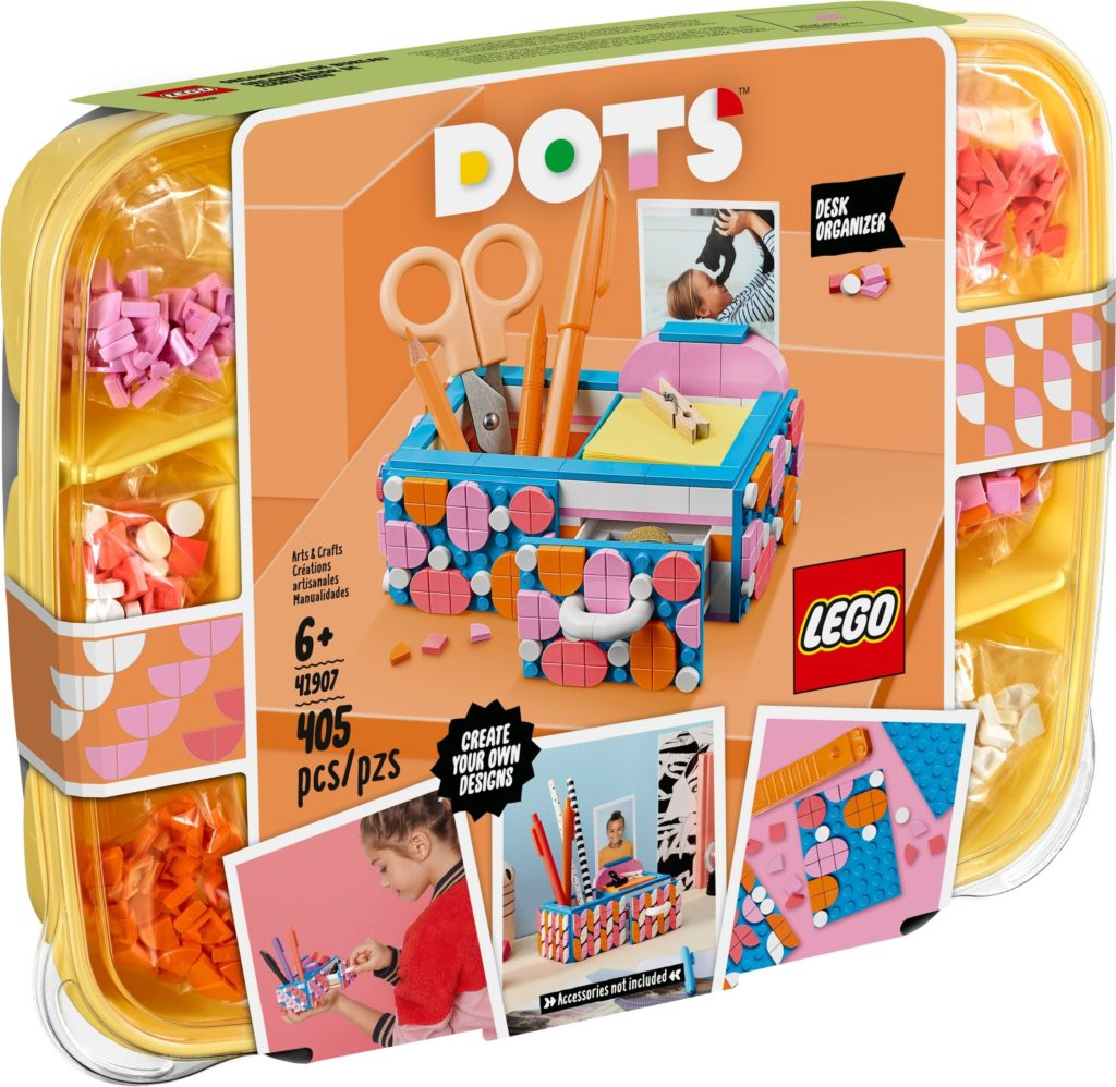 LEGO DOTS 41907 Desk Organizer 5