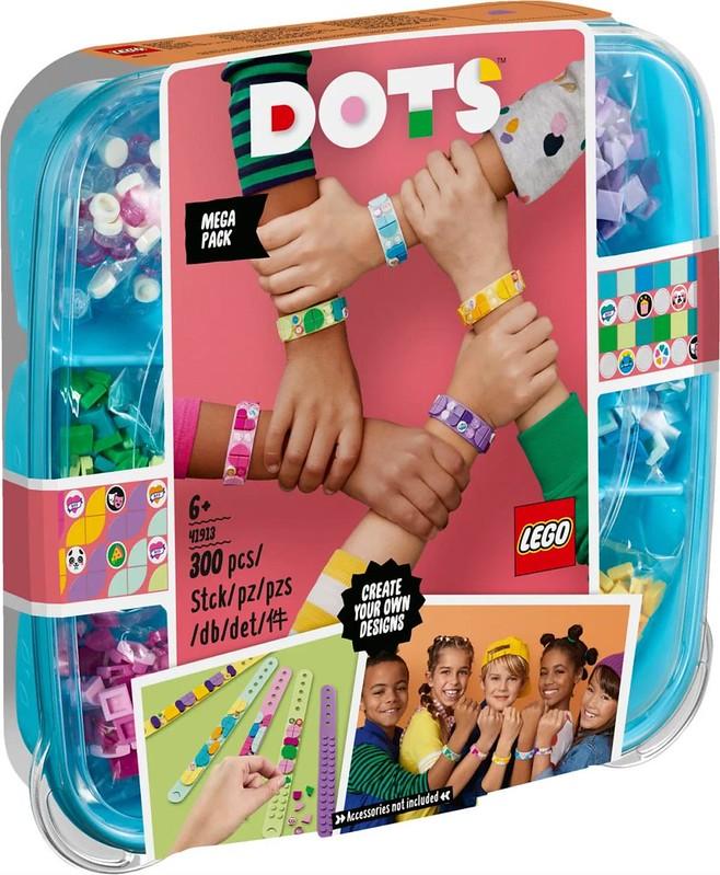 LEGO DOTS 41913 Bracelets Mega Pack 1