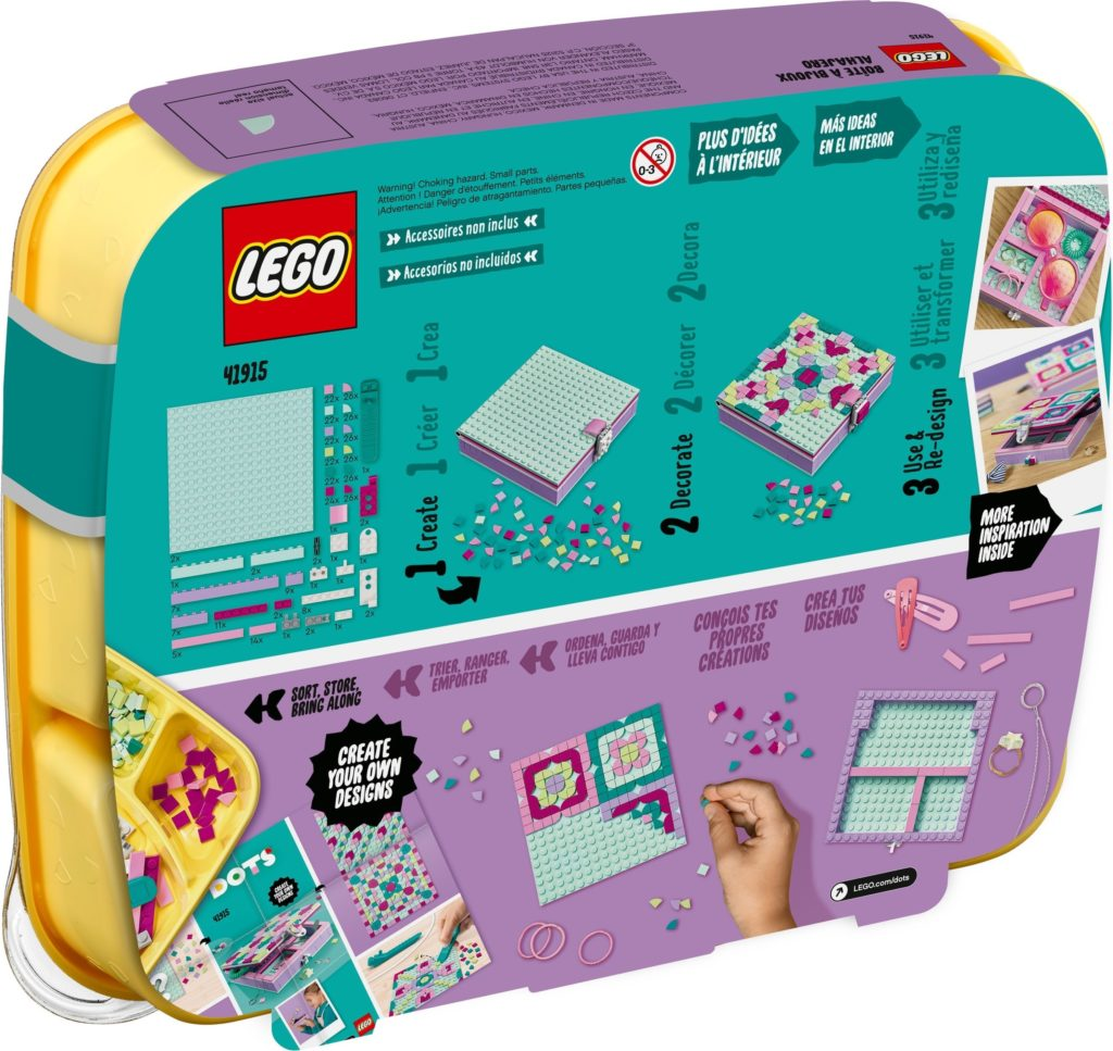 LEGO DOTS 41915 Jewelry Box 9