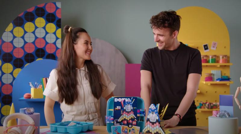 LEGO DOTS 43196 Pencil Holder Designer Video Featured