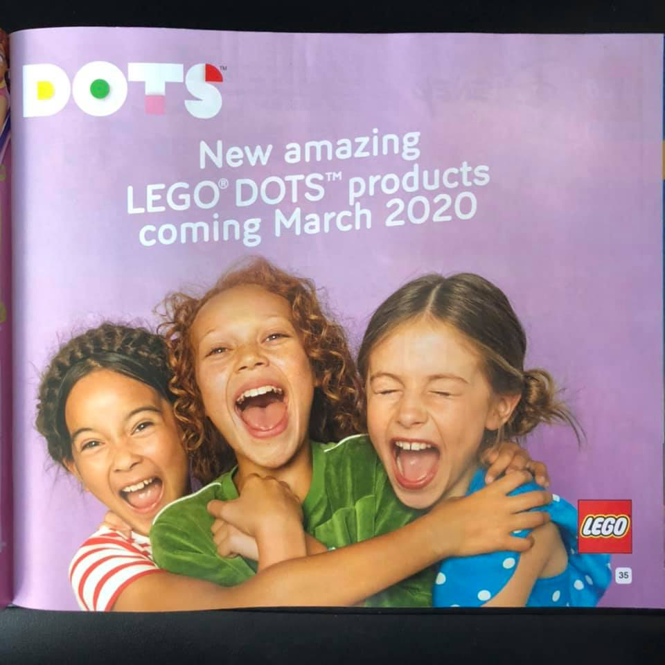 LEGO DOTS Catalogue Page
