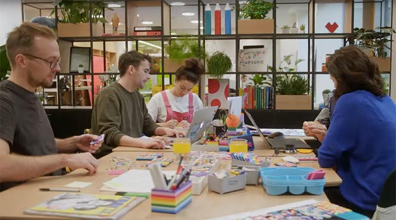 LEGO DOTS design meeting