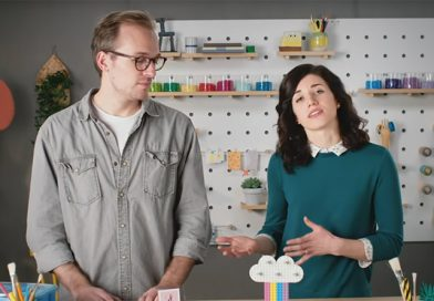 LEGO designers demonstrate DOTS home décor