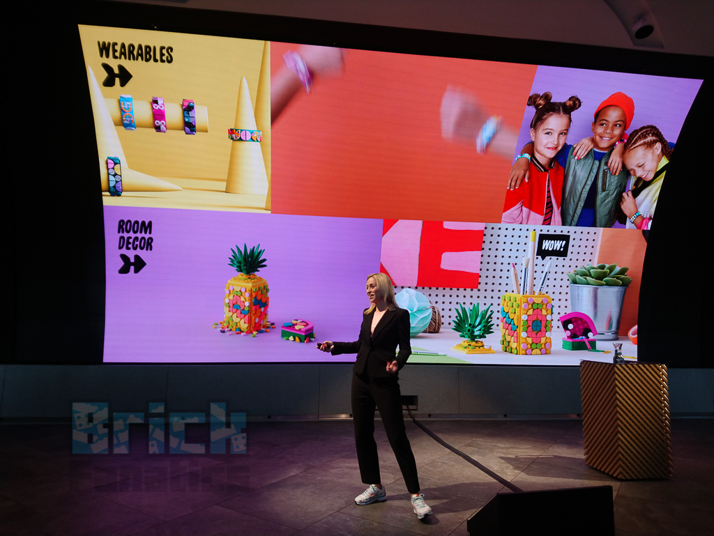 LEGO DOTS launch presentation 5