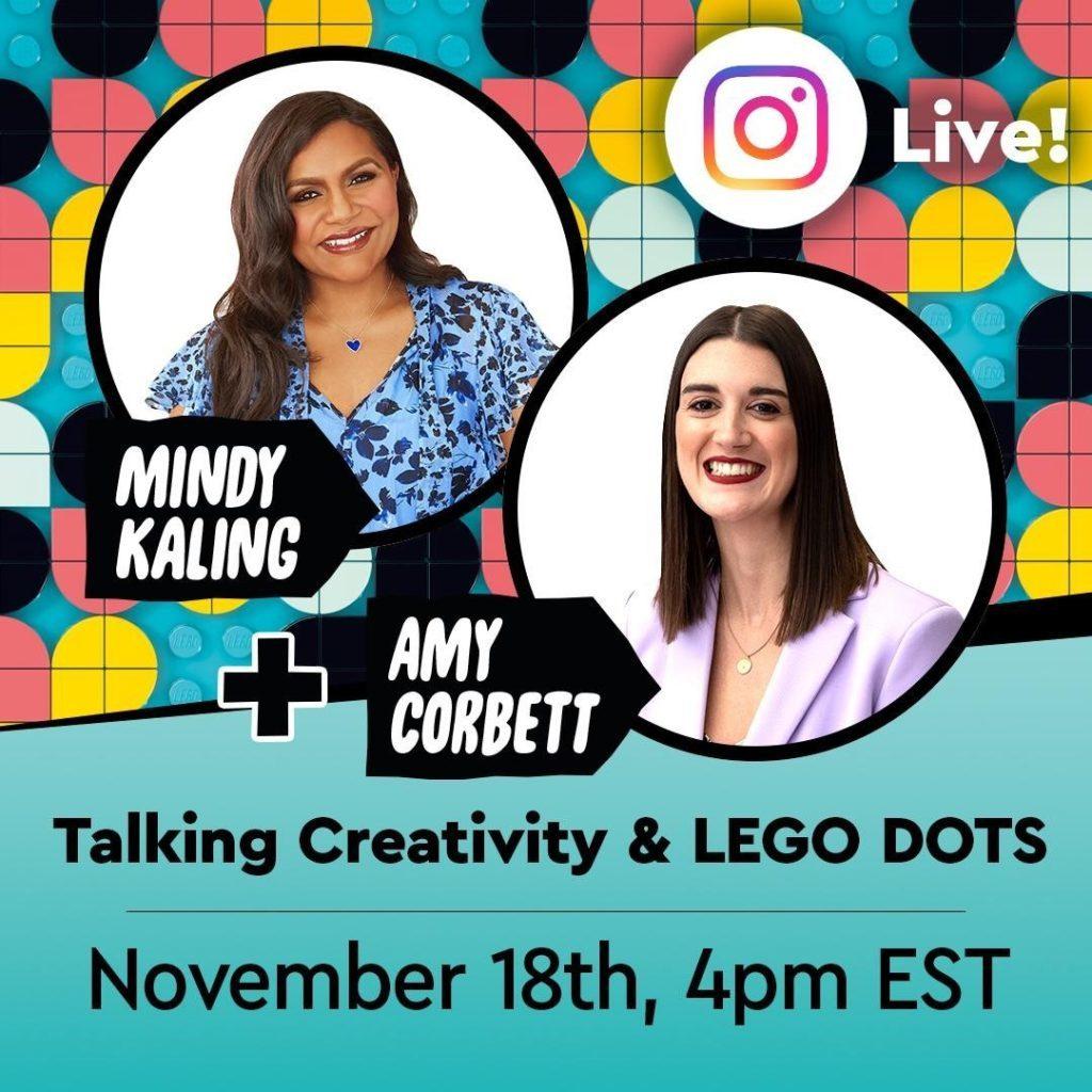 LEGO DOTS Live Mindy Kaling 1024x1024