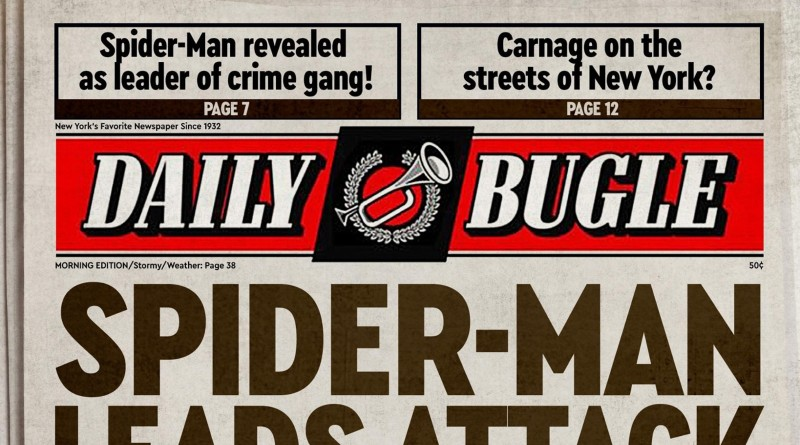 LEGO Daily Bugle Teaser