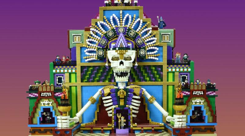 LEGO Day of the dead Dia de los Muertos featured