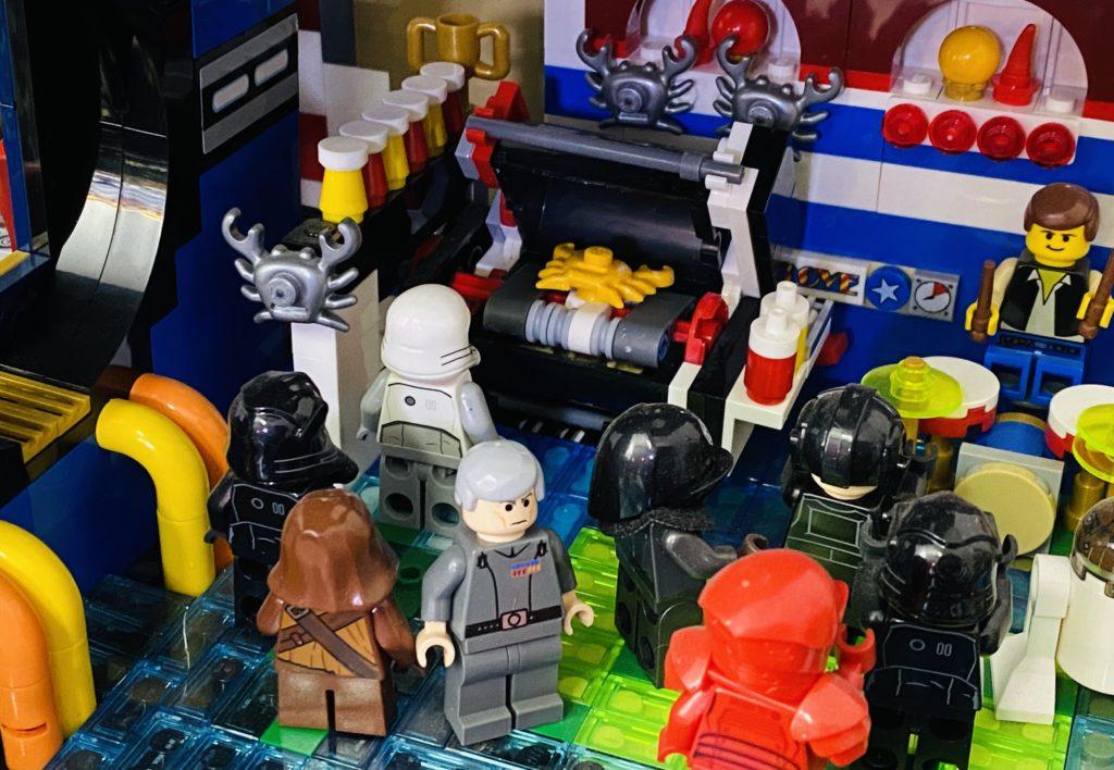 LEGO Death Spa Emma Kennedy Crab Oven
