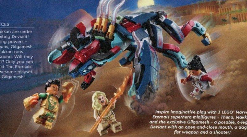 LEGO Deviant Ambush Eternals Marvel Featured 800x445