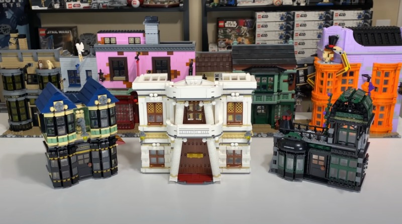 LEGO Diagon Alley Comparison Featured