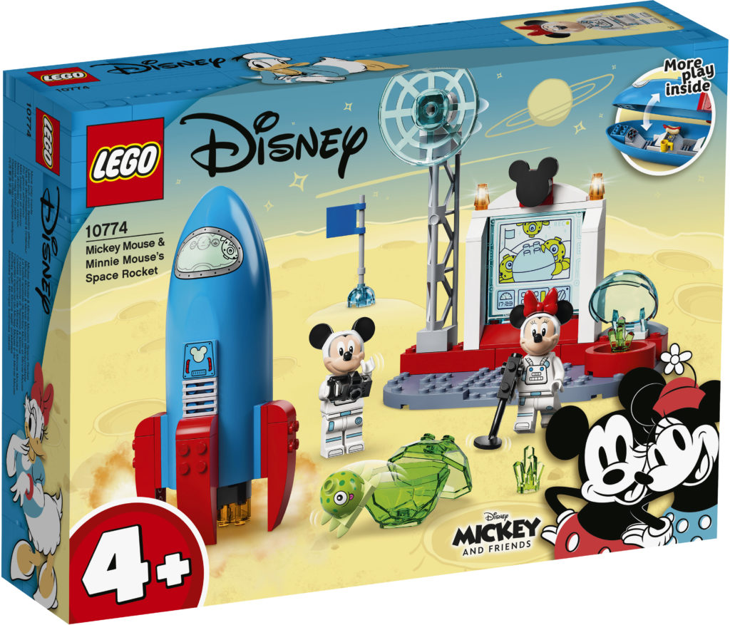 LEGO Disney 10774 Mickey Mouse Minnie Mouses Space Rocket 1