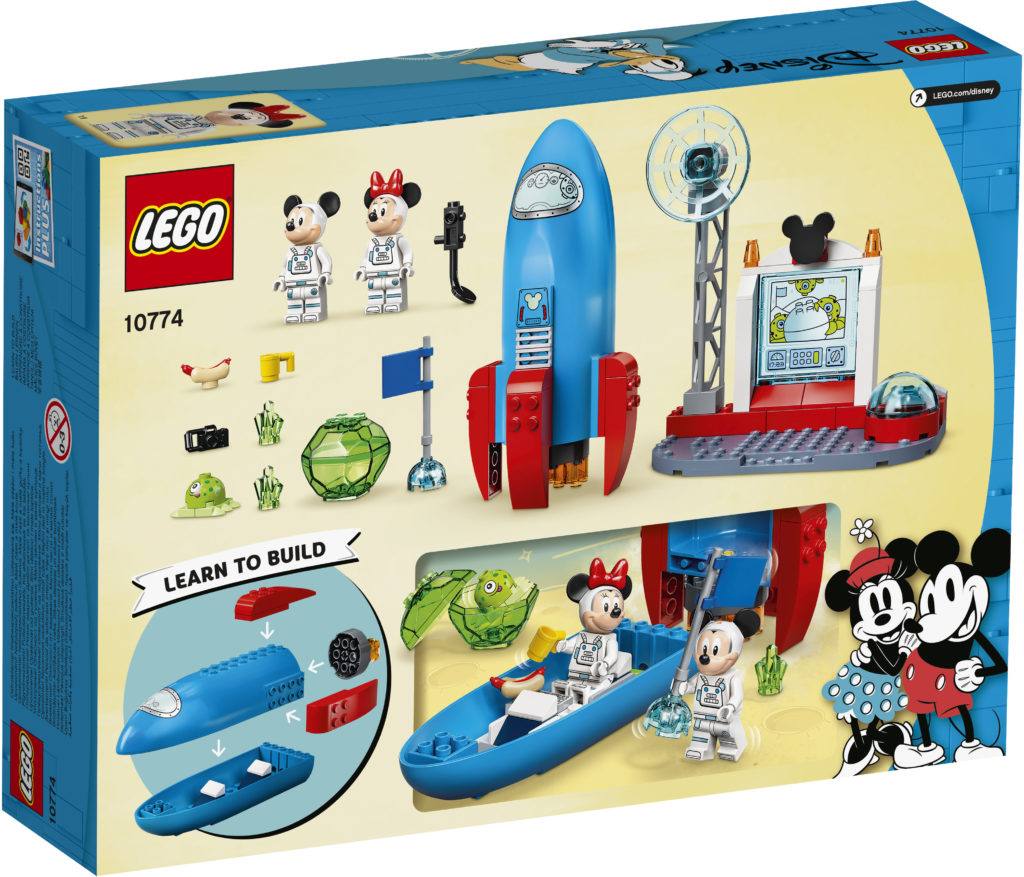 LEGO Disney 10774 Mickey Mouse Minnie Mouses Space Rocket 2