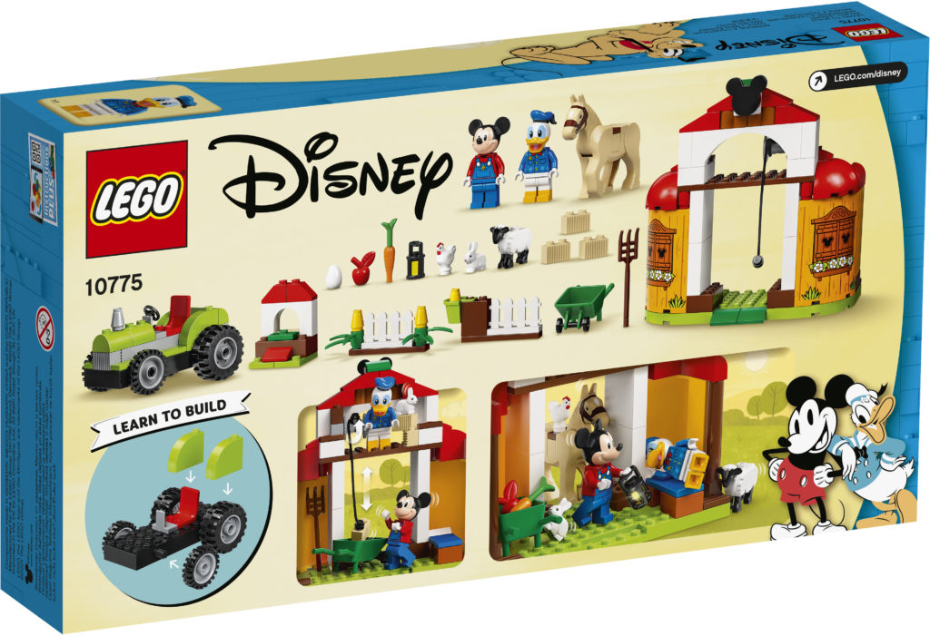 LEGO Disney 10775 Mickey Mouse Donald Ducks Farm 2