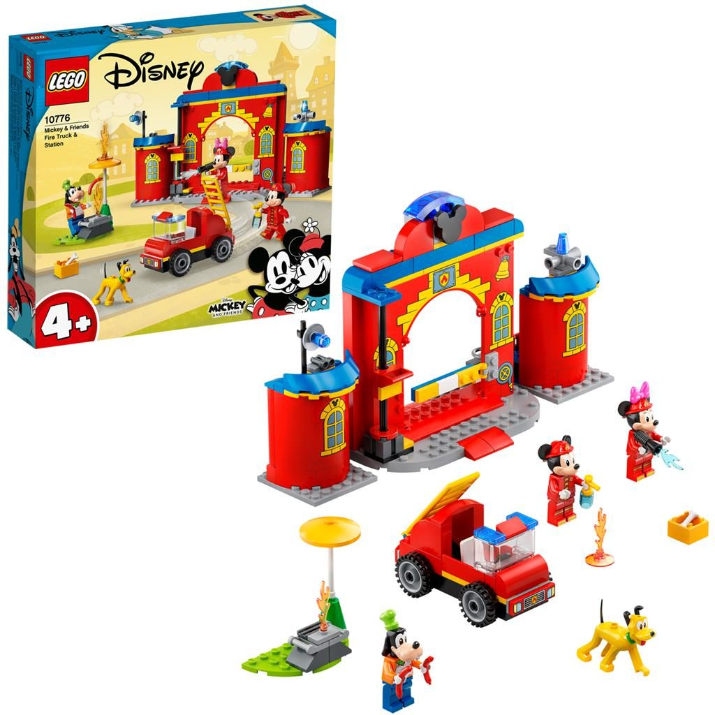 LEGO Disney 10776 Mickey Friends Fire Truck Station 1024x1024