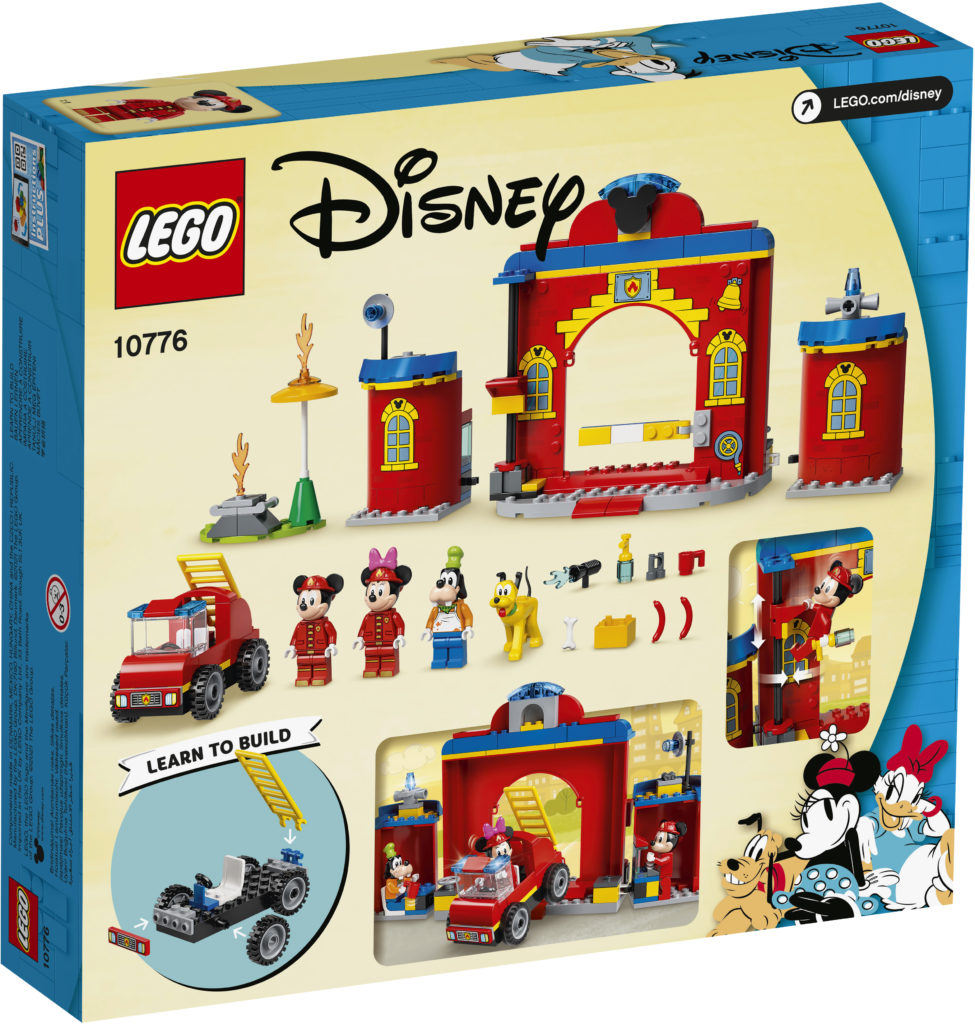LEGO Disney 10776 Mickey Friends Fire Truck Station 2