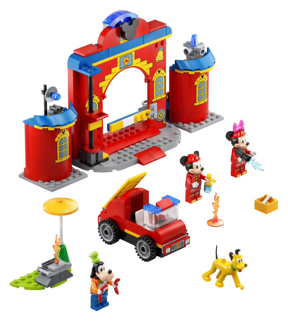 LEGO Disney 10776 Mickey Friends Fire Truck Station 3