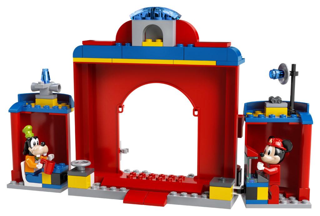 LEGO Disney 10776 Mickey Friends Fire Truck Station 5