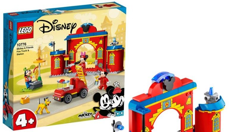 LEGO Disney 10776 Mickey Friends Fire Truck Station Featured 800x445