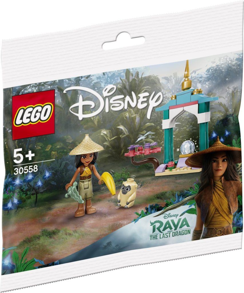 LEGO Disney 30558 Raya And The Ongi 1