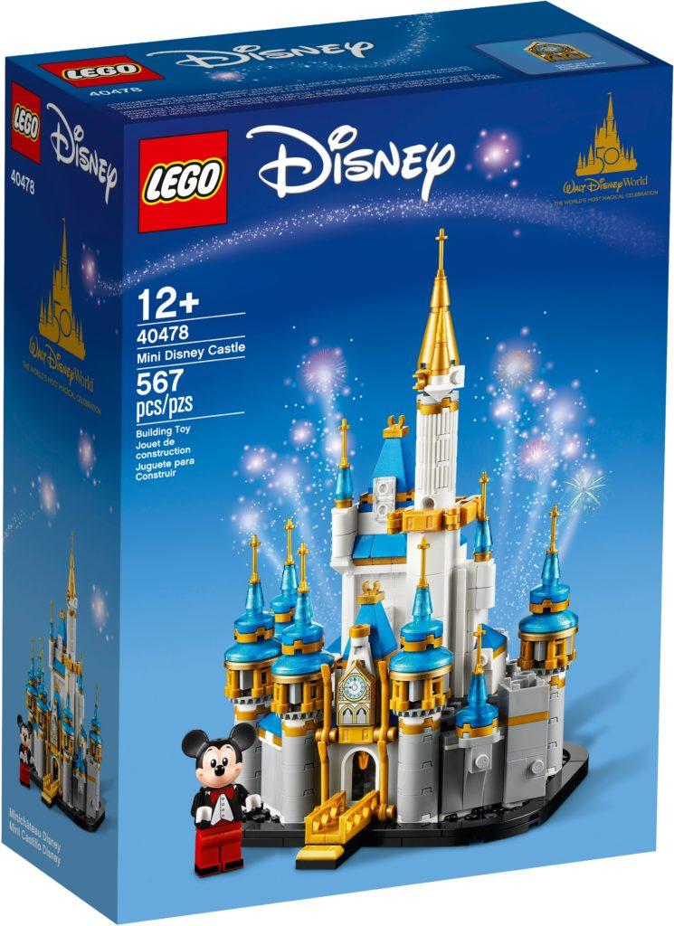 LEGO Disney 40478 Mini Disney ციხე 1