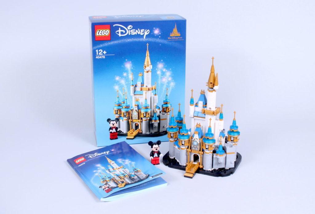 LEGO Disney 40478 Mini Disney Castle Review 1