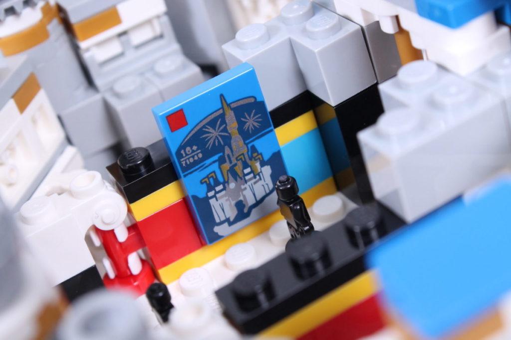 LEGO Disney 40478 Mini Disney Castle review 19