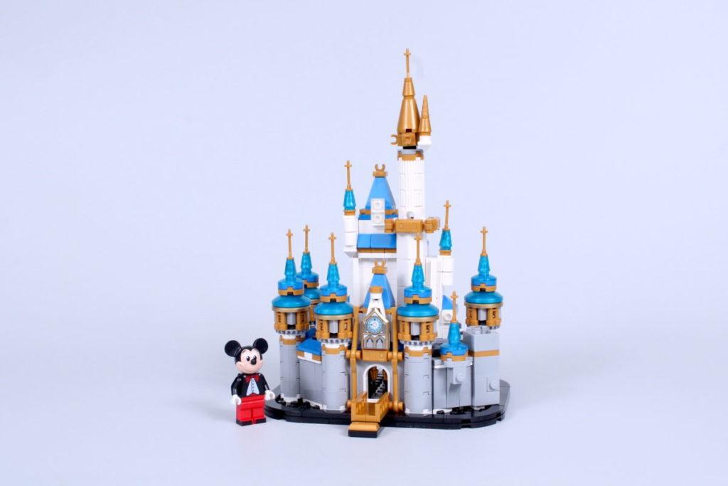 LEGO Disney 40478 Mini Disney Castle review 2